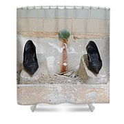 Rocket Woman Shower Curtain