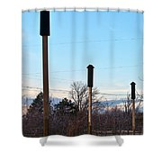 Rockets Arrows Or Bat Houses Shower Curtain