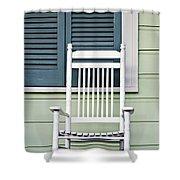 Rocking Chair Shower Curtain