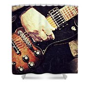 Rockn  Shower Curtain