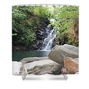 Rocks Of The Falls Shower Curtain