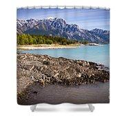 Rocky Mountain Bliss Shower Curtain