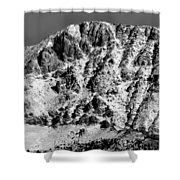 Rocky Mountain Ridges Shower Curtain