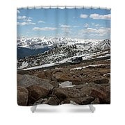 Rockyscape Shower Curtain