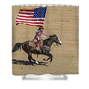Rodeo Colors - A Shower Curtain
