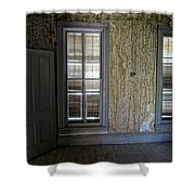 Roe - Graves House Interior - Bannack Ghost Town Shower Curtain