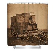 Roger Fentons Photographic Van Shower Curtain