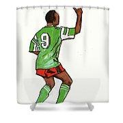 Roger Milla Shower Curtain