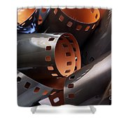 Roll Of Film Shower Curtain