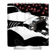 Rollin Rollin Rolls Royce Shower Curtain