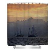 Rolling Fog Bank - Key West Shower Curtain