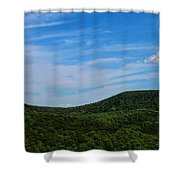 Rolling Green Shower Curtain