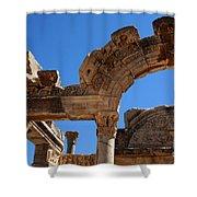 Roman Arch Ephesus Turkey Shower Curtain