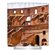 Roman Coliseum Interior Shower Curtain