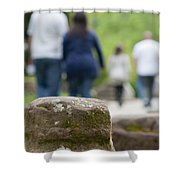Roman Ruins In Chester Shower Curtain