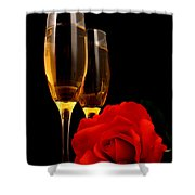 Romance Shower Curtain by Darren Fisher