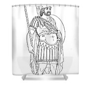 Rome: Army General Shower Curtain