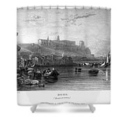 Rome: Aventine Hill, 1833 Shower Curtain by Granger