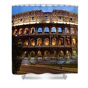 Rome Colosseum Dusk Shower Curtain