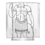 Rome: Foot Soldier Shower Curtain