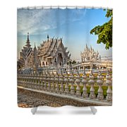 Rong Khun Temple Shower Curtain