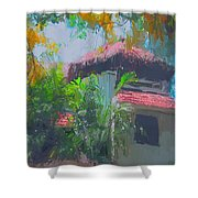 Roof Top Shower Curtain