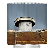 Rooftop Vent Shower Curtain