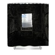 Room With A Seaview Shower Curtain