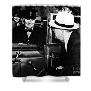 Roosevelt & Churchill, 1944 Shower Curtain