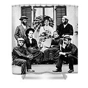 Roosevelt Family 1878 Shower Curtain