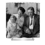 Roosevelt Family, 1915 Shower Curtain