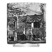 Roosevelt: Oath Of Office Shower Curtain by Granger