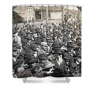 Roosevelt Speech, 1905 Shower Curtain