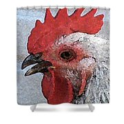 Rooster No. 2 Shower Curtain