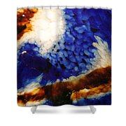 Rootbeer Sky Shower Curtain