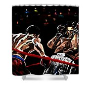 Rope A Dope Shower Curtain