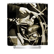 Rope N Ride Shower Curtain