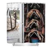 Roper's Locker Shower Curtain
