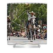 Roping Vaquero Shower Curtain
