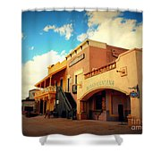 Rosas Cantina In Old Tuscon Az Shower Curtain