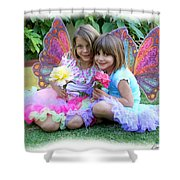 Rose Faeries Shower Curtain
