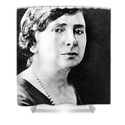 Rose Schneiderman Shower Curtain