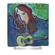Roseanne Cash Shower Curtain