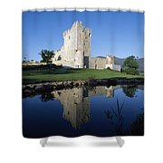 Ross Castle, Killarney, Co Kerry Shower Curtain