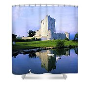 Ross Castle, Lough Leane, Killarney Shower Curtain