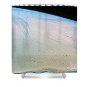 Ross Ice Shelf, Antarctica Shower Curtain