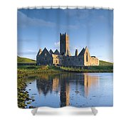 Rosserk Friary, Co Mayo, Ireland 15th Shower Curtain