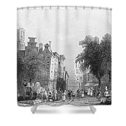Rotterdam, C1830s Shower Curtain