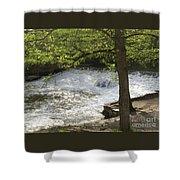 Rouge River At Fair Lane Shower Curtain