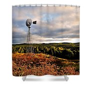 Route 125 Shower Curtain